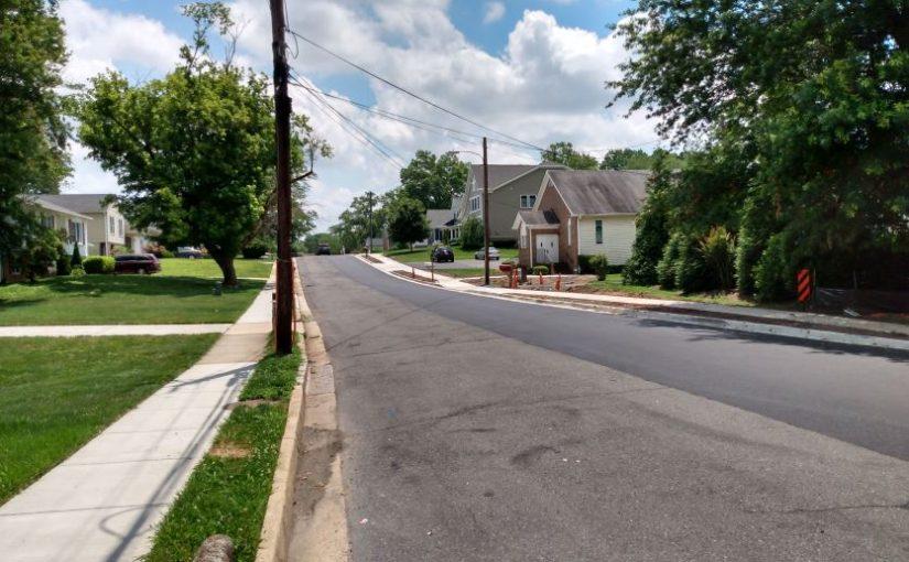 Post #1159:  Robinson estate sidewalks